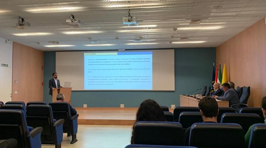 Defensa de tesis doctoral del IMEYMAT, Juan José Sánchez Gil, 10 de Marzo de 2020