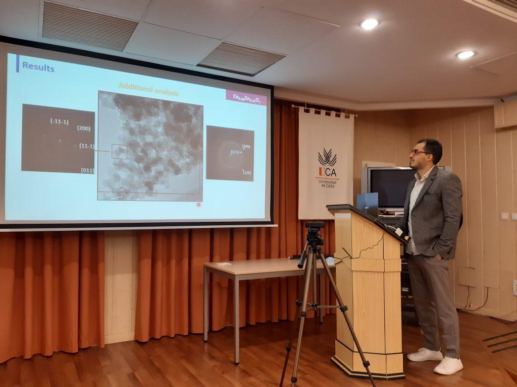 Defensa de tesis doctoral del IMEYMAT, Otman Bazta, 11 de Diciembre de 2020